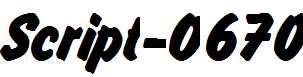 Script-O670-Regular