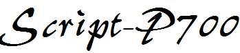 Script-P700-Regular