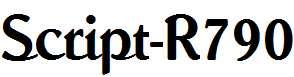 Script-R790-Regular