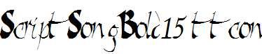 ScriptSongBold15-Bold-ttcon