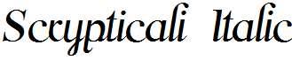 Scrypticali-Italic