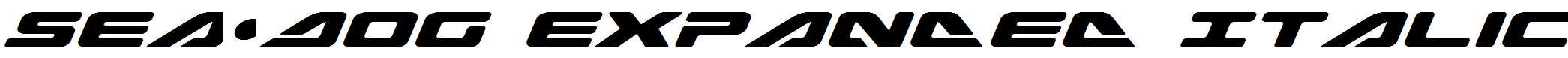 Sea-Dog-Expanded-Italic