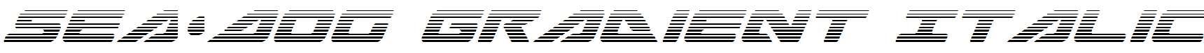 Sea-Dog-Gradient-Italic