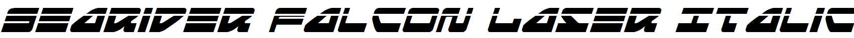 Searider-Falcon-Laser-Italic
