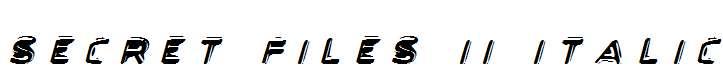 Secret-Files-II-Italic
