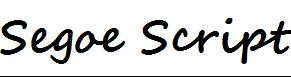 Segoe-Script-Bold