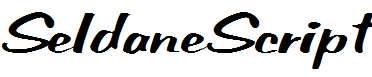 SeldaneScript-Italic