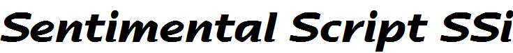Sentimental-Script-SSi-Bold