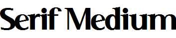 Serif-Medium
