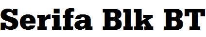 Serifa-Blk-BT-Black