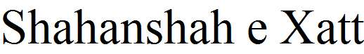 Shahanshah-e-Xatt-