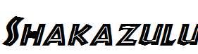 Shakazulu-Italic
