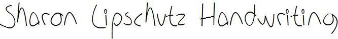 Sharon-Lipschutz-Handwriting