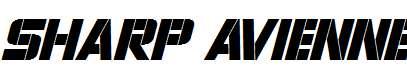 Sharp-Avienne-Italic