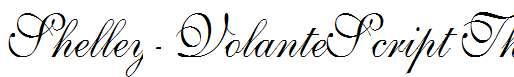 Shelley-VolanteScript-Th