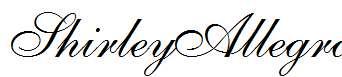 ShirleyAllegro-Regular