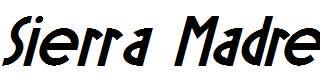 Sierra-Madre-Bold-Italic