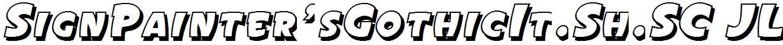 SignPainter-sGothicIt.Sh.SC-JL