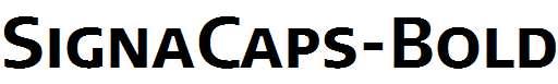 SignaCaps-Bold