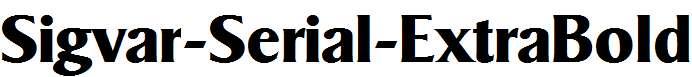 Sigvar-Serial-ExtraBold-Regular