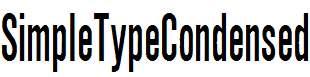 SimpleTypeCondensed