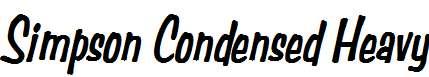 Simpson-Condensed-Heavy-Italic