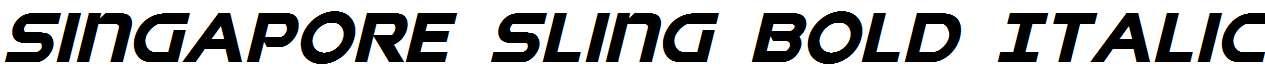 Singapore-Sling-Bold-Italic