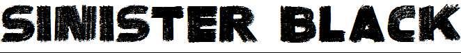SinisterBlack-Regular