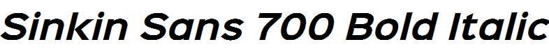 Sinkin-Sans-700-Bold-Italic