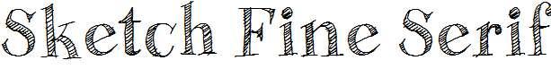 Sketch-Fine-Serif