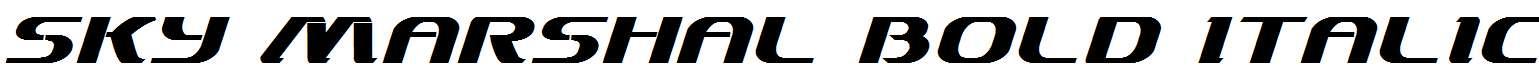 Sky-Marshal-Bold-Italic