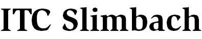 Slimbach-Bold