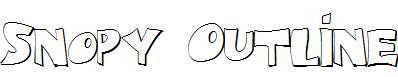 Snopy-Outline