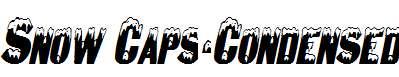 Snow-Caps-Condensed-Italic