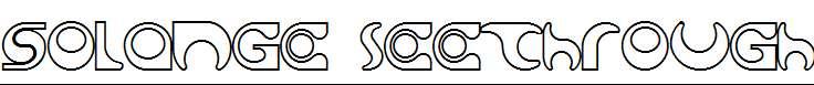 Solange-seethrough