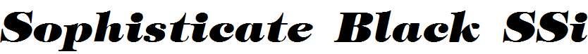 Sophisticate-Black-SSi-Bold-Italic