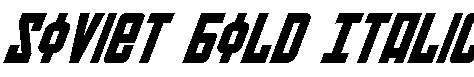 Soviet-Bold-Italic
