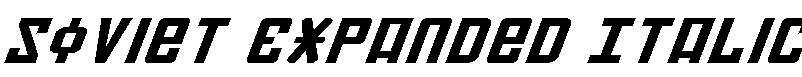 Soviet-Expanded-Italic