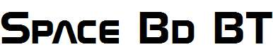 Space-Bd-BT-Bold