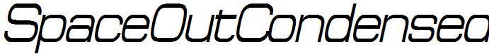 SpaceOutCondensed-Italic