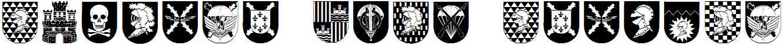Spanish-Army-Shields