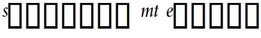 Spectrum-MT-Expert-Italic