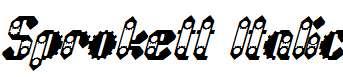 Sprokett-Italic