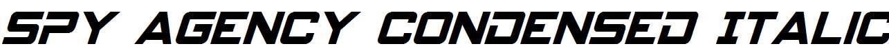 Spy-Agency-Condensed-Italic