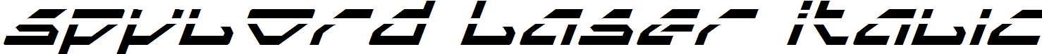 Spylord-Laser-Italic