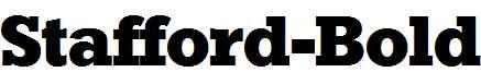 Stafford-Bold