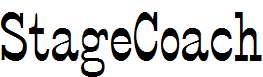 StageCoach-Regular