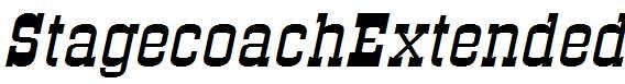 StagecoachExtended-Italic