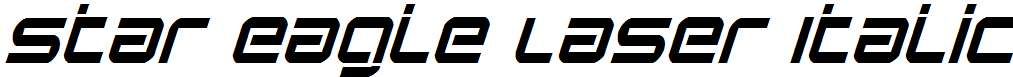 Star-Eagle-Laser-Italic