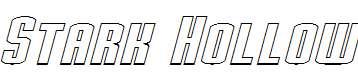 Stark-Hollow-Italic